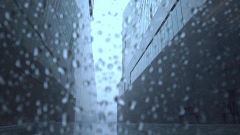 Rainy weather outside Footage