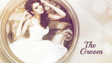 Golden Wedding Day After Effects Templates