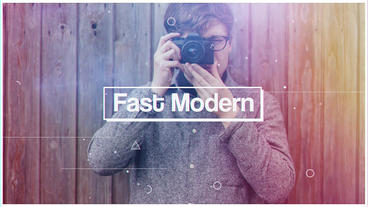 Fast Modern After Effectsテンプレート