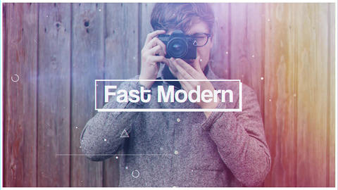 Fast Modern After Effects Template