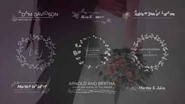 Wedding Titles Big Pack After Effects Templates