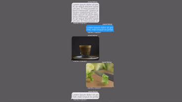 Messages Constructor Plantilla de After Effects