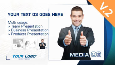 Team Presentation Extension (V.2) - After Effects Template After Effects Project