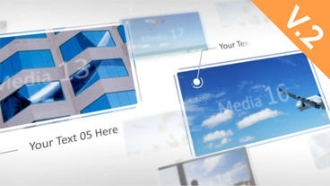 Elegant Flying Display (V.2) - After Effects Template After Effects Template