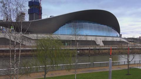 Aquatics centre at Queen Elizabeth Olympic Park Live Action