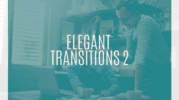 Elegant Transitions 2 Premiere Proテンプレート
