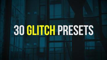 Glitch Presets Premiere Pro Template