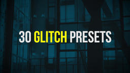 Glitch Presets Premiere Proテンプレート