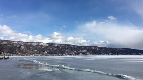 長野県諏訪湖 御神渡り3-20180206 ビデオ