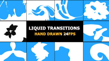 Liquid Transitions After Effectsテンプレート