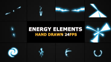Energy Elements And Transitions After Effects Template