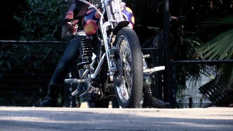 bike rider Footage
