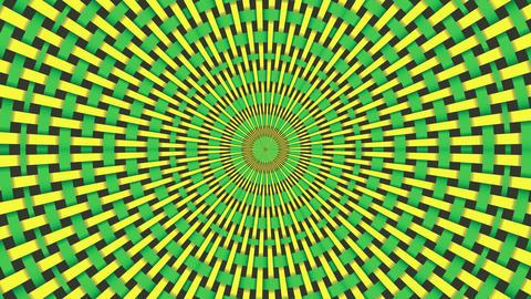 Wicker Pattern. Colorful Looping