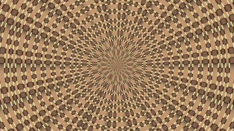 Wicker Pattern. Colorful Looping 0