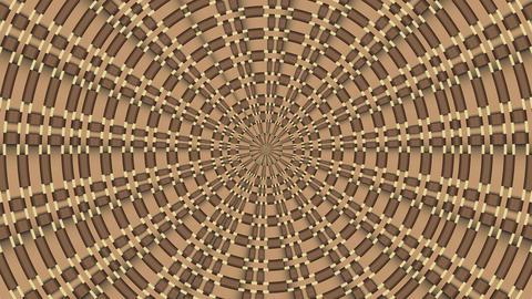 Wicker Pattern. Colorful Looping 1