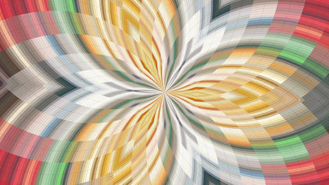 Colorful Kaleidoscopic Video Background 2