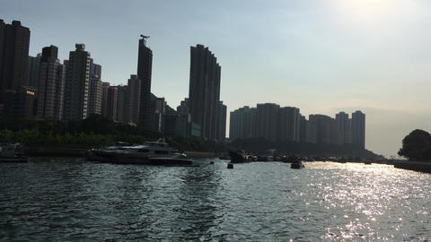 harbour of hong kong Footage