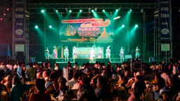 Loi Krathong Festival Concert in Thailand Archivo