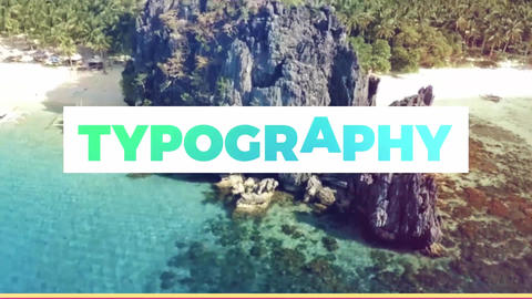 Typography Slideshow After Effects Template