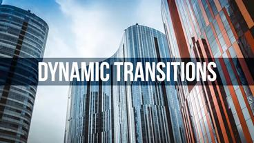 Dynamic Transitions Premiere Pro Template