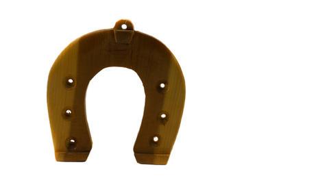 Horseshoe isolated on white background Photo