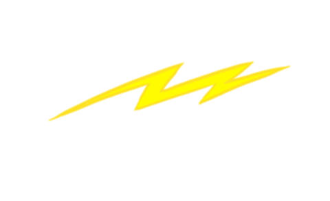 Cartoon lightning Animation