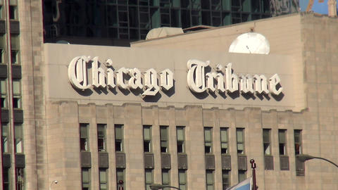 Chicago Tribune - CHICAGO, ILLINOIS/USA Footage