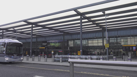 Terminal at London Heathrow Airport Live Action