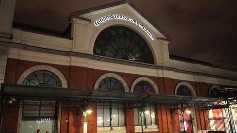 London Transport museum - LONDON, ENGLAND NOVEMBER 20, 2014 Footage