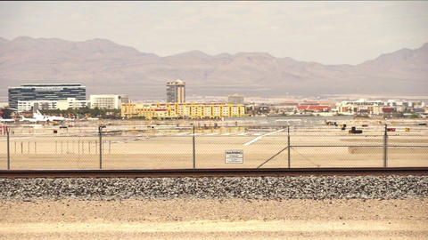 McCarran Airport Airfield with runway – April 18th 2015 Footage