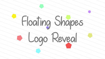 Floating Shapes Reveal After Effects Templates
