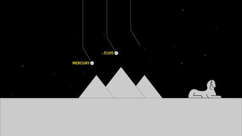 Pyramids Orion Correlation Filmmaterial