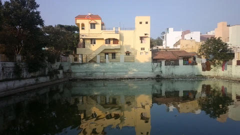Urban Villa on waterfront. India Image