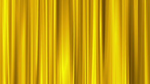gold curtain swaying like theater Animation
