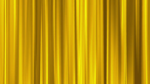 gold curtain swaying like theater Stock Video Footage