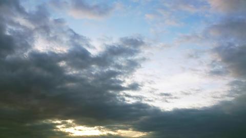 stormy cloud sky timelapse Footage