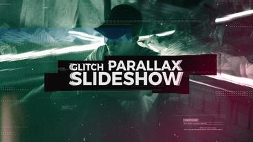 Glith Parallax Slideshow Premiere Pro Template