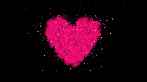 Heart Valentine's Day Stock Video Footage