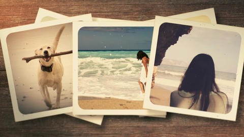 Polaroid Slideshow After Effects Template