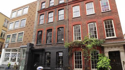 68 Dean Street Soho London UK listed building Footage