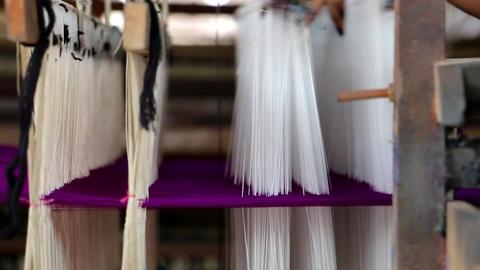 Women Weaving Loom In Burma (2 of 2) 영상물