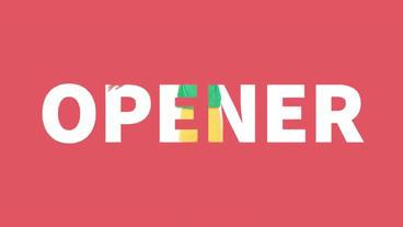 The Opener Premiere Proテンプレート