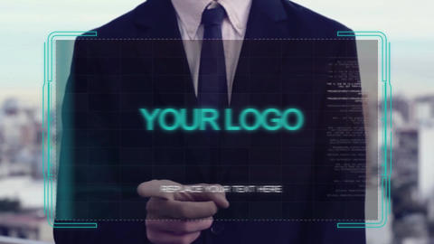 Holo Corporate Slideshow After Effects Template