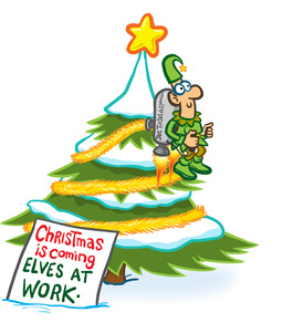 Elves at Work Animation