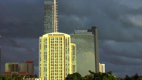 One Broadway Building Miami – MIAMI, FLORIDA/USA OCTOBER 23, 2013 Footage