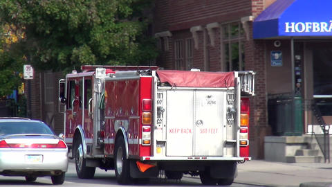 New Port Fire department Engine - CINCINNATI, OHIO/USA OCTOBER 10, 2013 Footage