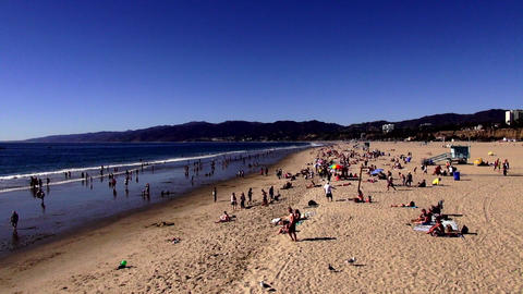 Santa Monica Beach Los Angeles – LOS ANGELES, CALIFORNIA NOVEMBER 8,2012 Live Action