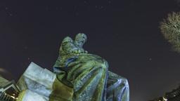Fjodor Michailowitsch Dostojewski Sculpture 2 K Pro Res HQ stock footage