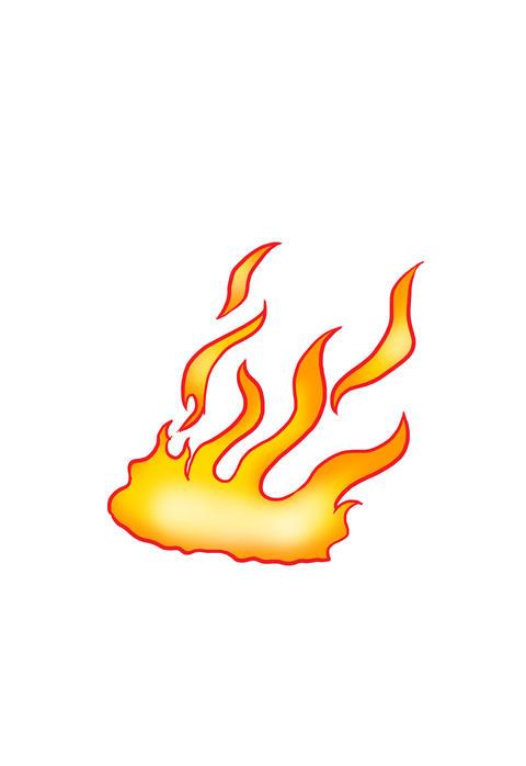 Cartoon Flames Animation