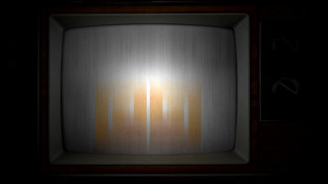 OLD TV LOGO After Effects Template